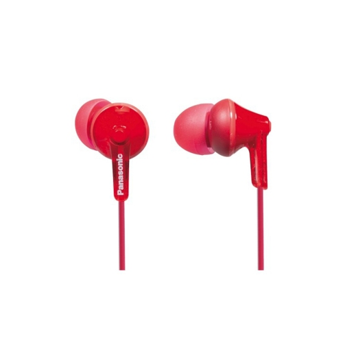 Panasonic RP-HJE125 Red Headphones (RPHJE125ER) (PANRPHJE125ER)