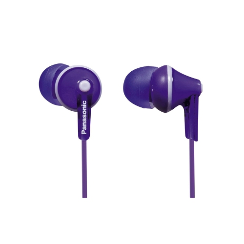 Panasonic RP-HJE125 Purple Headphones (RPHJE125EV) (PANRPHJE125EV)
