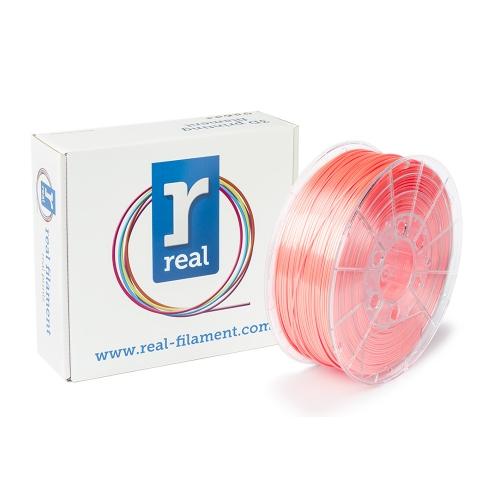 REAL PLA 3D Printer Filament - Satin Salmon - spool of 0.75Kg - 1.75mm (REFPLASATINSALMON750MM175)