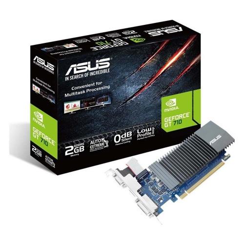 VGA Asus GeForce GT 710 2GB GDDR5 SL with Brackets (90YV0AL3-M0NA00) (ASU90YV0AL3-M0NA00)