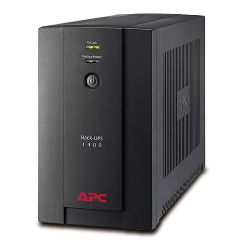 APC UPS 1400VA Back-Ups Line Interactive Schuko (BX1400U-GR) (APCBX1400U-GR)