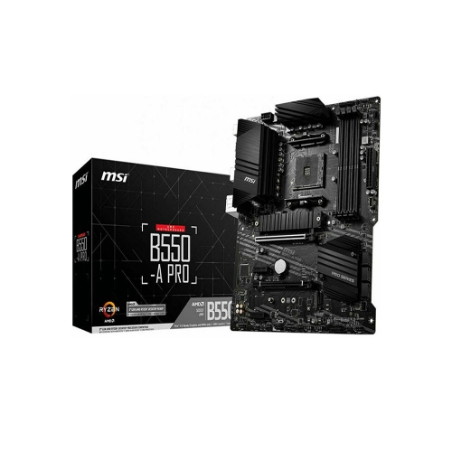 MSI B550-A PRO Motherboard AM4 (7C56-007R)