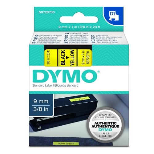 Ταινία Ετικετογράφου DYMO Standard 40918 9 mm x 7 m (Μαύρα Γράμματα σε Κίτρινο Φόντο) (S0720730) (DYMO40918)