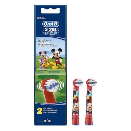 Ανταλλακτικά Oral-B Toothbrush Stages Power Mickey 2τμχ (746249) (BRA746249)