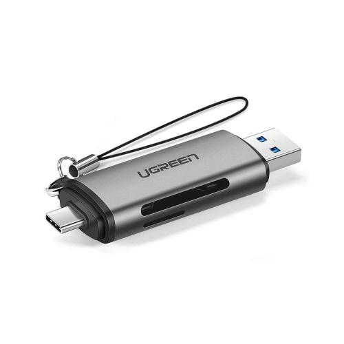 Ugreen 2-in-1 USB 3.0 / USB-C Card Reader (50706) (UGR50706)