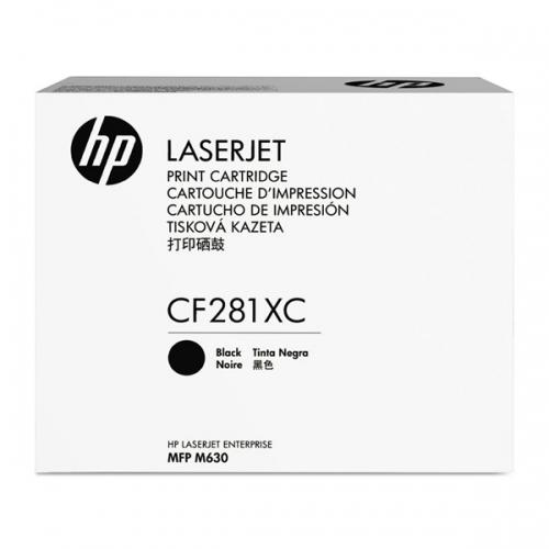 HP TONER M630 HC BLACK CONTRACTUAL  (25k) (CF281XC) (HPCF281XC)