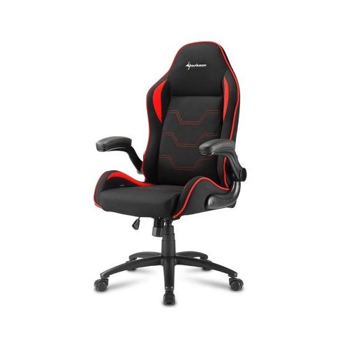 Sharkoon Elbrus 1 gaming chair Black/Red (ELBRUS1RD) (SHRELBRUS1RD)