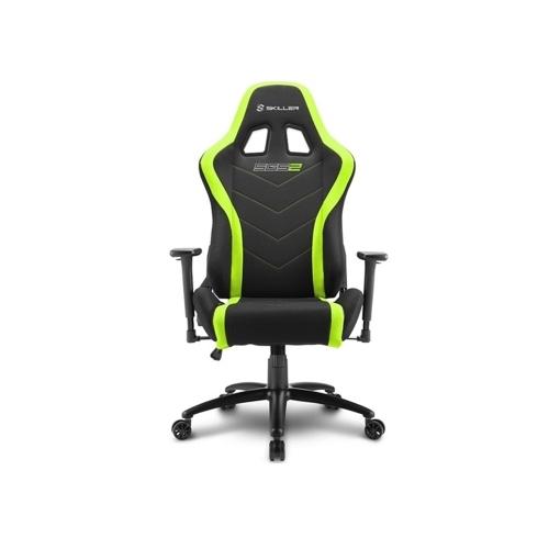 Sharkoon Skiller SGS2 gaming chair Iron Black/Green (SGS2GR) (SHRSGS2GR)