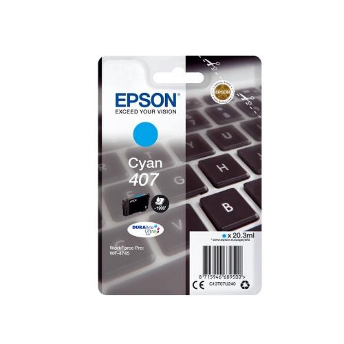 Epson 407 Cyan (C13T07U240) (EPST07U240)