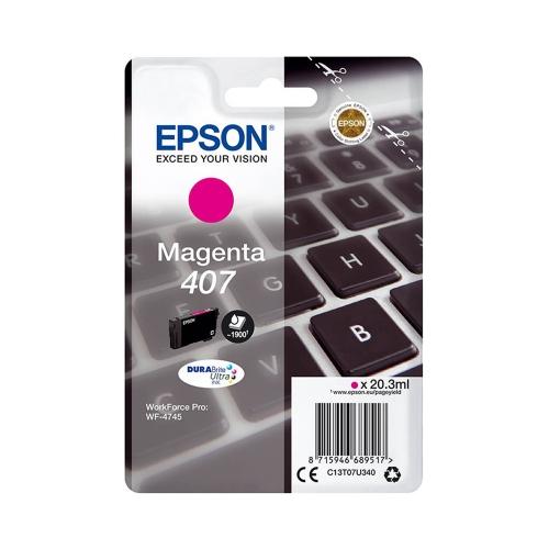 Epson 407 Magenta (C13T07U340) (EPST07U340)