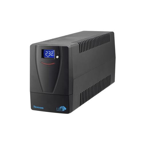 Tescom Leo Plus LCD 850VA UPS Line Interactive (UPS.0786) (TSLCD850AP)