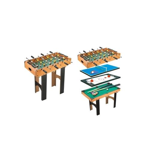 Homcom Πολυλειτουργικό Τραπέζι Παιχνιδιών 4 σε 1 (A70-019) (HOMA70-019)