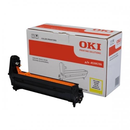 OKI MC760/770/780 DRUM YELLOW (45395701) (OKI-MC760-YEP)