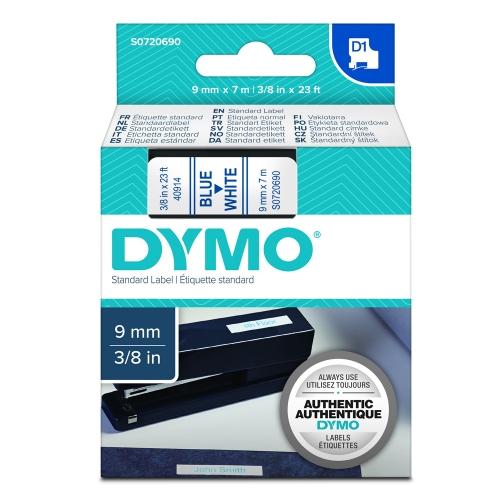 Ταινία Ετικετογράφου DYMO Standard 40914 6 mm x 7 m (Μπλέ Γράμματα σε Λευκό Φόντο) (S0720690) (DYMO40914)