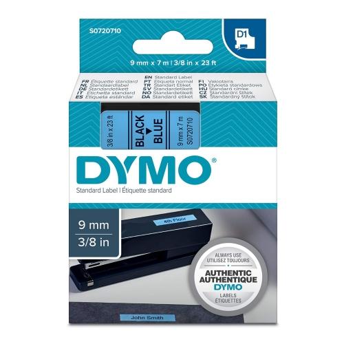 Ταινία Ετικετογράφου DYMO Standard 40916 9mm x 7m (Μαύρα Γράμματα σε Μπλέ Φόντο) (S0720710) (DYMO40916)
