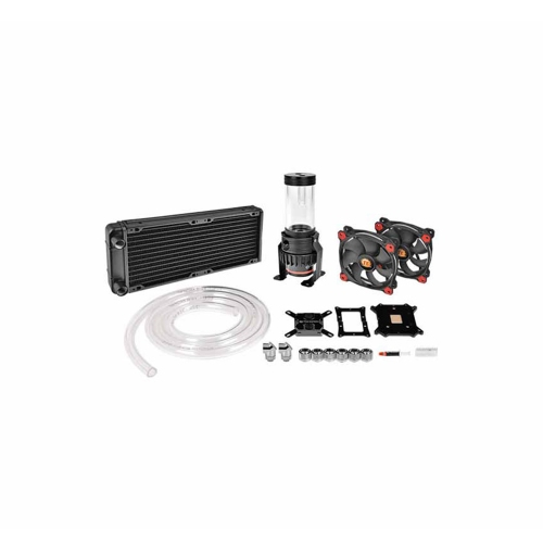 Thermaltake Cooler Pacific R240 D5 Soft Tube LCS Kit (CL-W196-CU00RE-A) (THECLW196CU00REA)