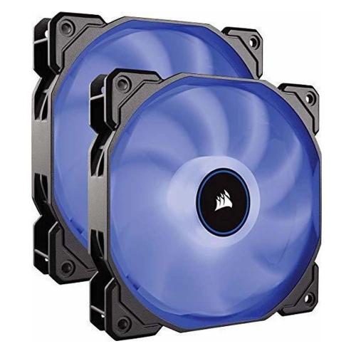 Corsair Air Series™ AF140 LED (2018) Blue 140mm Fan Dual Pack (CO-9050090-WW)
