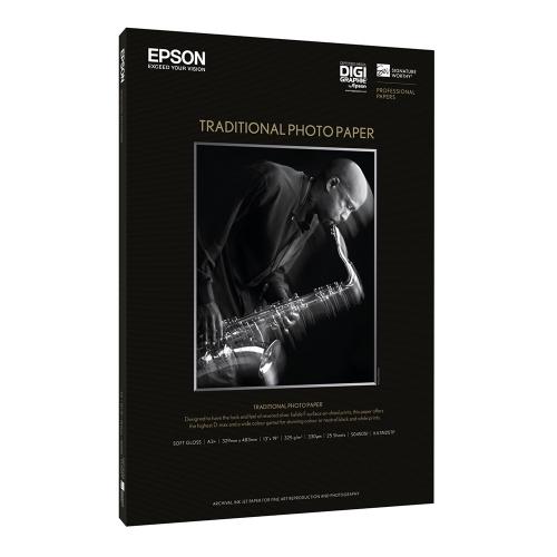 Χαρτί EPSON Traditional Photo Paper 64″ x 15m (C13S045107) (EPSS045107)