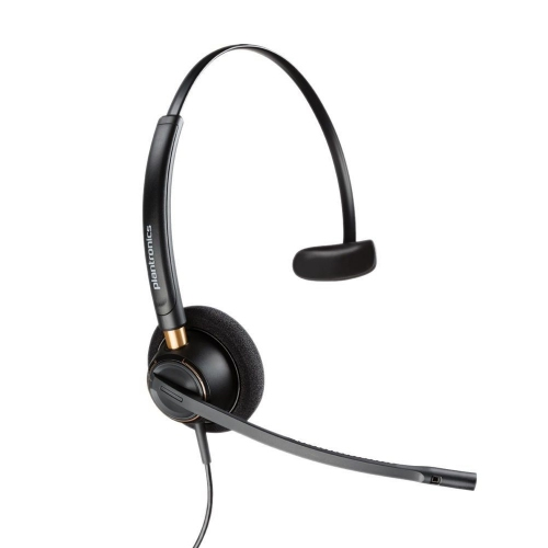 Plantronics EncorePro HW510 On-Ear Headset wired USB (89433-02)