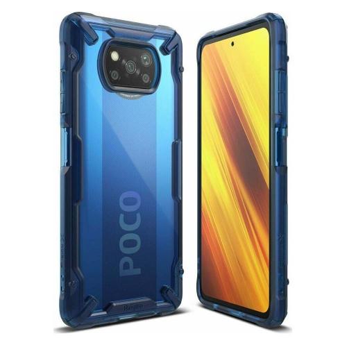 Ringke Fusion X Xiaomi Poco X3 NFC Space Blue (FXXI0028) (RINFXXI0028)