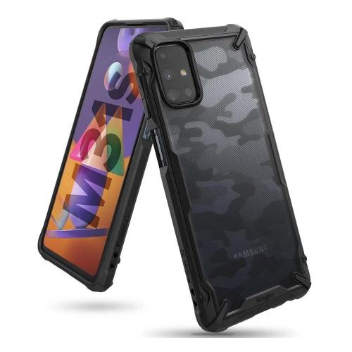 Ringke Fusion X Galaxy M31s Camo Black (XDSG0042) (RINXDSG0042)