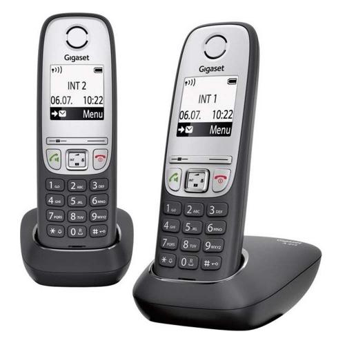 Ασύρματο Τηλέφωνο Gigaset A415 Duo Black (L36852-H2505-B101) (GGSL36852-H2505-B101)