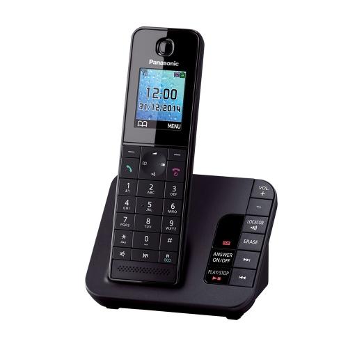 Ασύρματο Τηλέφωνο Panasonic KX-TGH220 Black (KX-TGH220) (PANKX-TGH220)