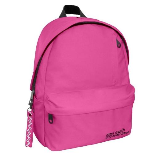 Τσάντα Πλάτης Must Monochrome Rpet Ροζ με1 Κεντρική Θήκη