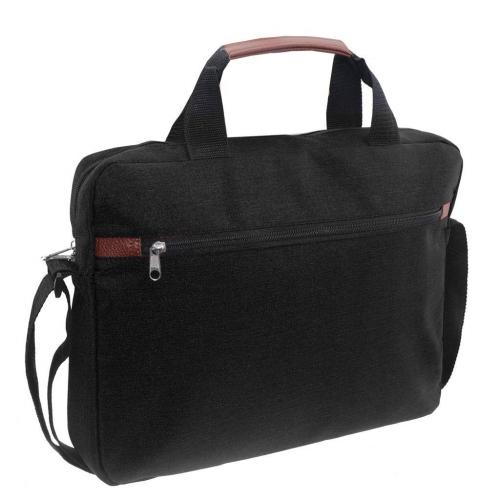 Τσάντα Laptop Mood Μαύρη με 2 Θήκες