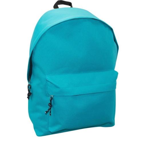 Τσάντα Πλάτης Εφηβική Mood Omega Μπλε με 2 Θήκες