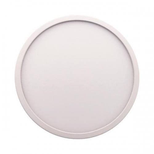 ΦΩΤΙΣΤΙΚΟ ΧΩΝΕΥΤΟ LED SLIM Φ220 30W 4000K ΛΕΥΚΟ PLUS