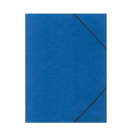 Ντοσιέ λάστιχο χάρτινο μπλε