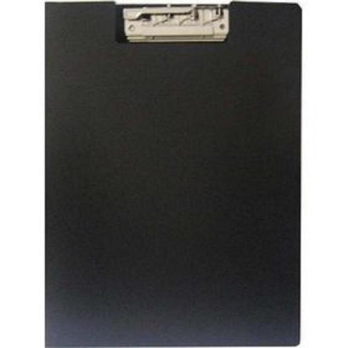 Ντοσιέ πιάστρα Α4 δίφυλλο μαύρο
