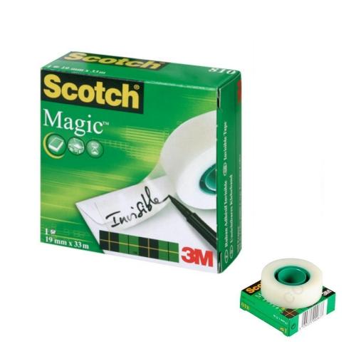 Σελοτέιπ Scotch 3M 810 Magic 19mmx33m γαλακτερό