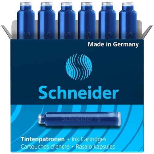 Αμπούλες κοντές Schneider μπλε 6 τεμ