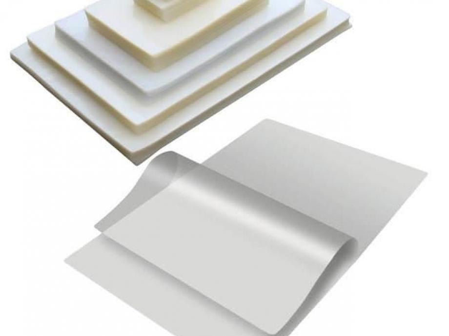 Δίφυλλα πλαστικοποίησης 110x155 125mic 100τεμ