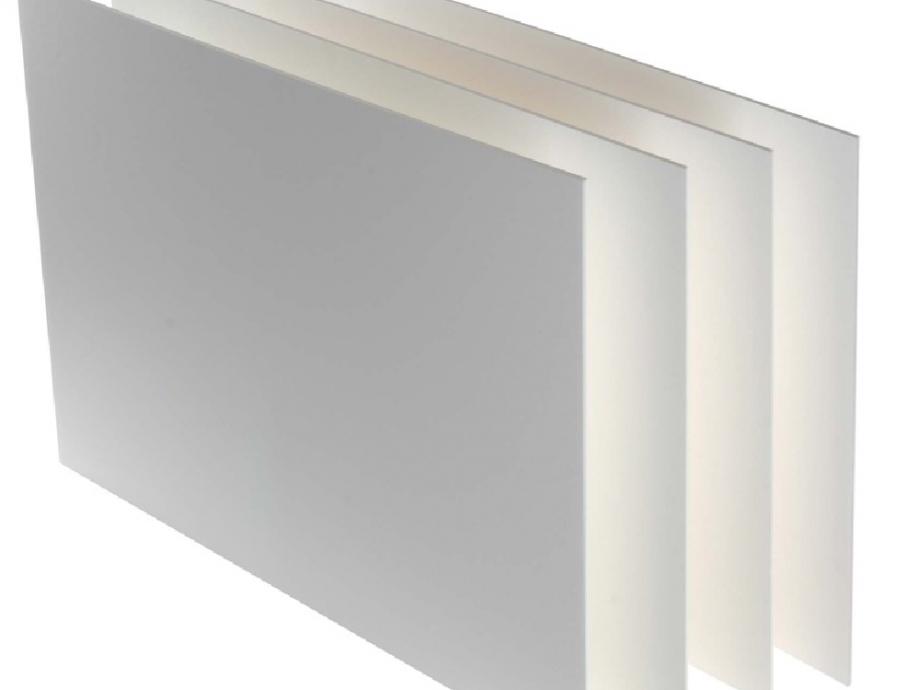 Μακετόχαρτο 70x100 cm 5 mm λευκό