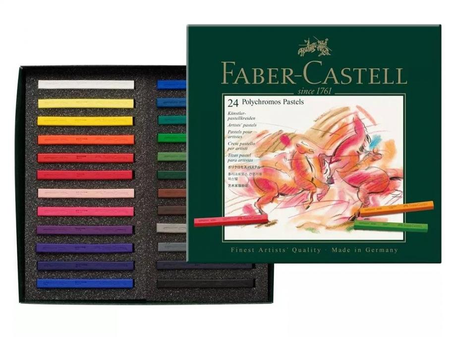Παστέλ Faber Polychromos 128524 σετ 24τεμ