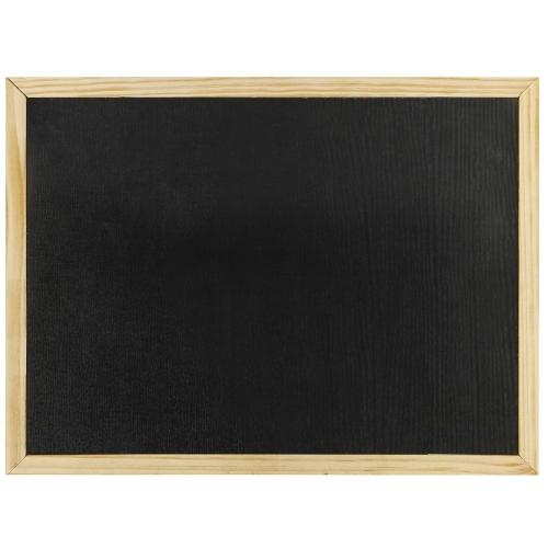 Πίνακας κιμωλίας 30x40 cm μαύρος