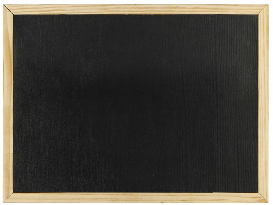 Πίνακας κιμωλίας 40x60 cm μαύρος