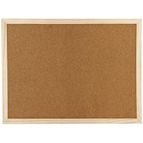 Πίνακας φελλού 90x120 cm ξύλινο πλαίσιο