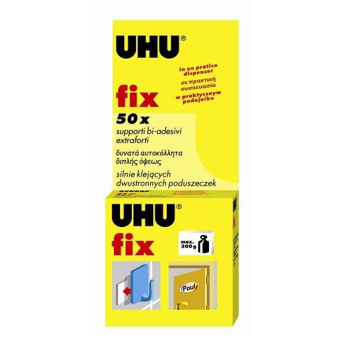 Αυτοκόλλητα διπλής όψης Uhu fix 50 τεμ.