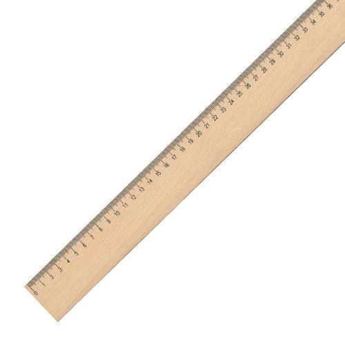 Χάρακας διδασκαλίας ξύλινος 1 μέτρου