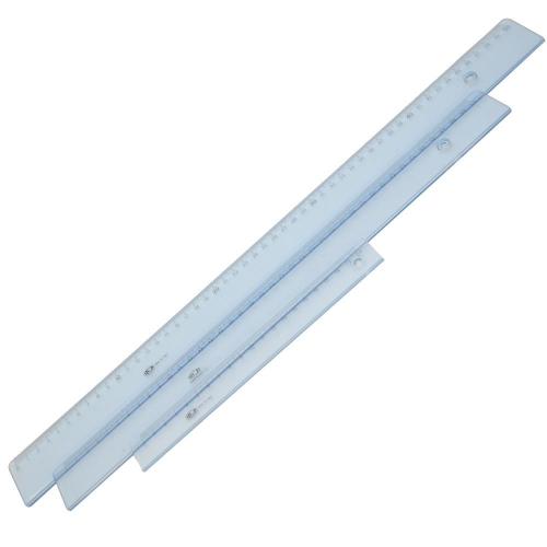 Χάρακας πλαστικός Ilca 50 cm