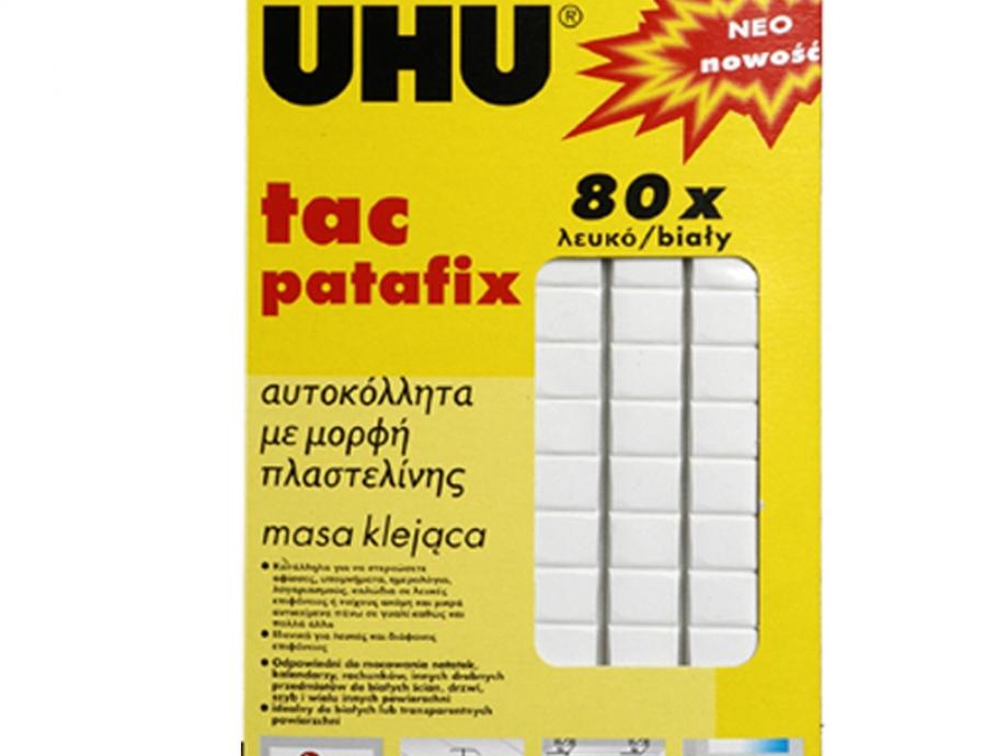 Αυτοκόλλητα πλαστελίνης Patafix Uhu 80 τεμ.