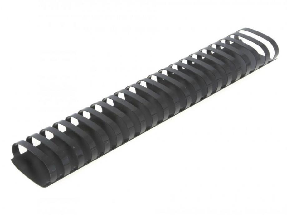 Σπιράλ πλαστικό 32 mm διάμετρο μαύρο