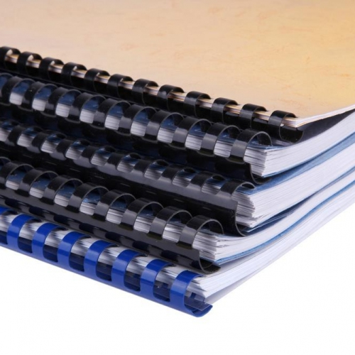 Βιβλιοδεσία με Πλαστικό σπιράλ Α4