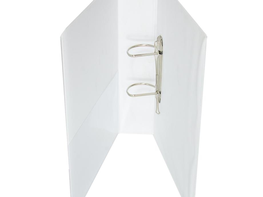 Κλασέρ παρουσίασης λευκό 7 cm 2 κρίκοι D
