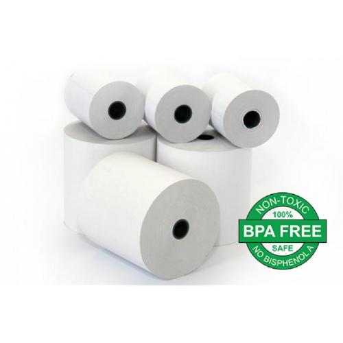 Χαρτοταινία 57x50mm 25m θερμική BPA FREE 48gr