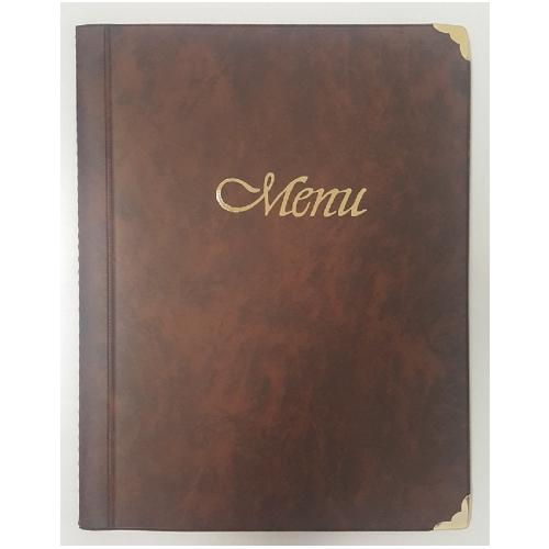 Κατάλογος εστιατορίου Α4 10 φύλλα καφέ μενού